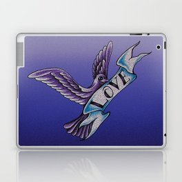 The Dove Of Love Laptop & iPad Skin