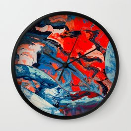 Let frustrations flow Wall Clock