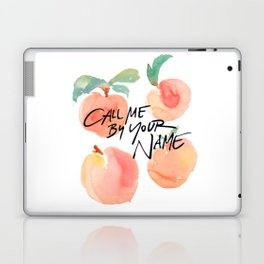 Call Me By Your Name - Peaches Laptop & iPad Skin