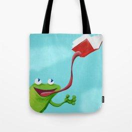 Histoire de Grenouille 1 Tote Bag