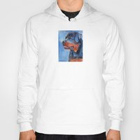 rottweiler Hoodies featuring Rottweiler by Doggyshop
