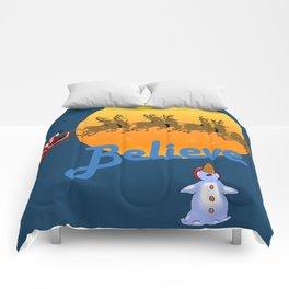Believe In Santa Claus  Comforters