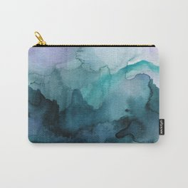 Dream away abstract watercolor Carry-All Pouch
