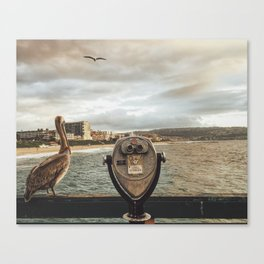 The Best View is Right Next to You Canvas Print