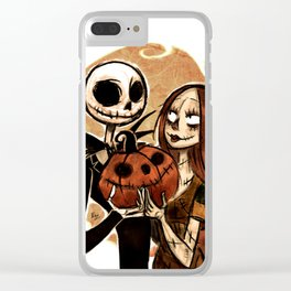 Jack & Sally Clear iPhone Case