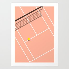 Sport Series: Tennis Art Print