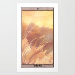 East Wind Art Print