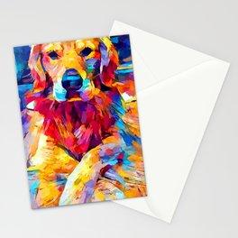 Golden Retriever 6 Stationery Cards