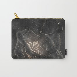 Catching peaceful heart. Carry-All Pouch