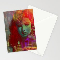 The girl of Tuesday evening Stationery Cards