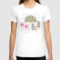 rain T-shirts featuring Rain by ottomanbrim