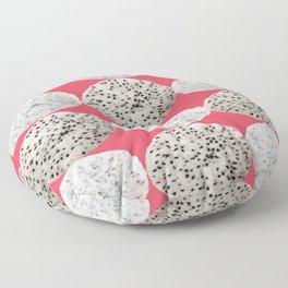 DragonFruit fruit pattern art Floor Pillow