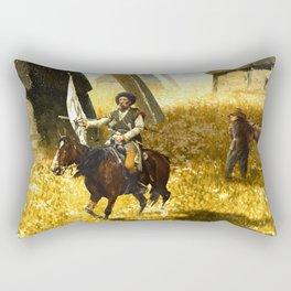 Giants on the Plains Rectangular Pillow