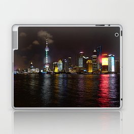 Shanghai - Pudong by night Laptop & iPad Skin
