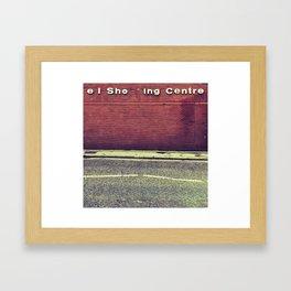 el Sho  ing Centre Framed Art Print