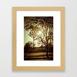 NewMexicoSun Framed Art Print
