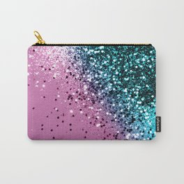 Tropical Beach Lady Glitter #6 #shiny #decor #art #society6 Carry-All Pouch