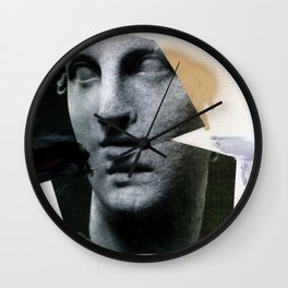 Untitled (Painted Composition 8) Wall Clock