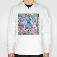 holographic Hoodies featuring lady cakes by STORMYMADE