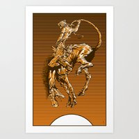 The Middle Distance II Art Print