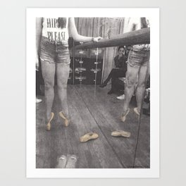 Point Shoes Art Print