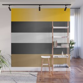 Licorice candy stripes. Wall Mural