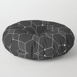 Modern and Simple Galactic Pattern Floor Pillow