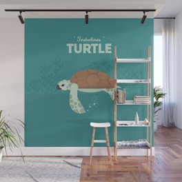 The Sea turtle Wall Mural