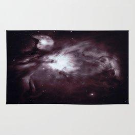 Slate Gray Orion Nebula Rug
