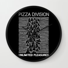 Pizza Division Wall Clock
