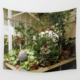 Over Grown Table 2 Wall Tapestry