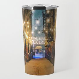Winter Graffiti Travel Mug