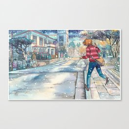 Cold In Yokohama #07 Canvas Print