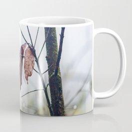 Orange leaves, trying to stay alive Coffee Mug