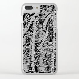 Loneliness Fears 56 Clear iPhone Case