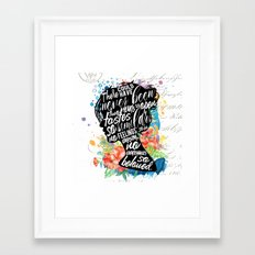 Persuasion - So Beloved Framed Art Print