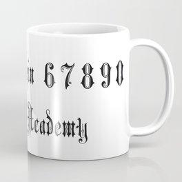 Arcana Academy - Alphabet Coffee Mug