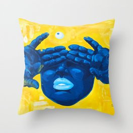 Seen Thru It All Throw Pillow