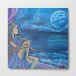Upon the Sea Metal Print
