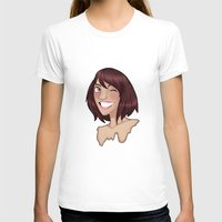 risa rodil T-shirts featuring Risa by Laura Monaghan Illustration