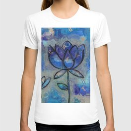 Abstract - Lotus flower - Intuitive T-shirt