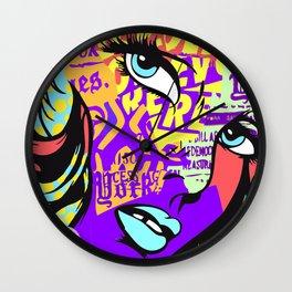 URBAN POP ART MASH-UP SERIES Wall Clock