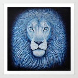 'Majesty' Star Lion Art Print