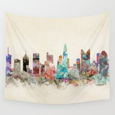 columbus ohio skyline Wall Tapestry
