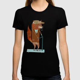 the eccentric mr fox T-shirt