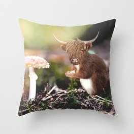 Sqcowirrel Throw Pillow