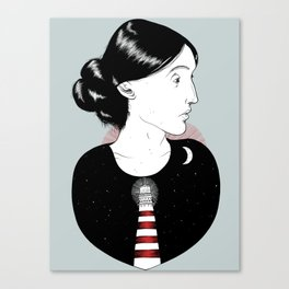 To the Lighthouse - Virginia Woolf Canvas Print
