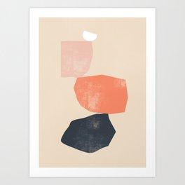 Abstract Shapes 26 Art Print