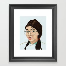 Yearbook 80, Science Lab Framed Art Print
