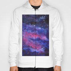Nebula Galaxy Watercolor Space Sky Hoody
